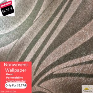 PVC Wallpaper Beautiful Design in Stock for Sale pictures & photos