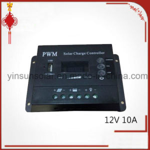 PWM 12V10A Solar Charge Controller with USB pictures & photos
