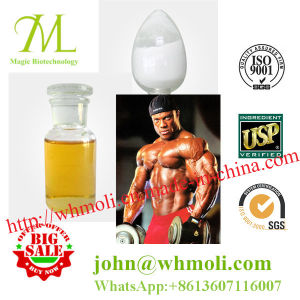 Light Yellow Powder Gym Hormone Powder Trenbolone Acetate pictures & photos