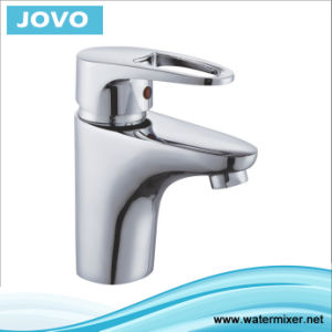 Chrome Wash Basin Mixer Faucet (JV 70901) pictures & photos