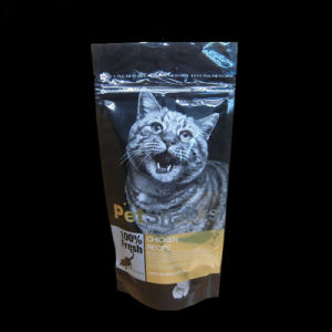 Pet Food Packaging Bag in Stand up with Zip Lock pictures & photos