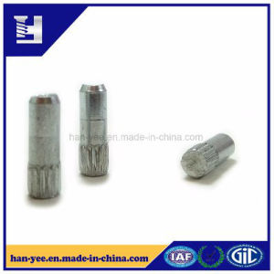 Knurling Stud Pin in Chamfer Solid Fastener pictures & photos