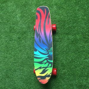 UL Certified 4 Wheel Electric Skateboard with Colorful Sandpaper pictures & photos