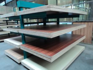 Teak Block Face MDF, Color No.: 281, Size 120X2440mm, Thickness: as Your Order, Glue: E0, Teak Block Paper MDF, Melamine MDF pictures & photos