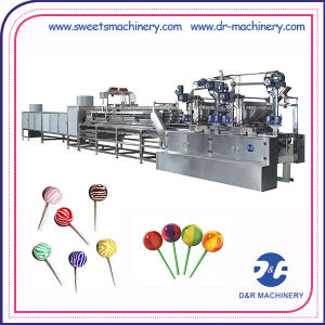Full Automatic Candy Machine Deposited Lollipop Production Line pictures & photos