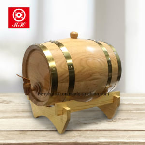 Top Sale High Quality Wood Wine Barrel with 5L 10L 225L pictures & photos