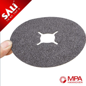 High Quality Silicon Carbide Metal and Wool Polishing Fiber Disc pictures & photos