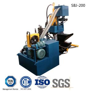 Iron Filing Hydraulic Briquetting Press Metal Scrap Briquette Machine-- (SBJ-200B) pictures & photos