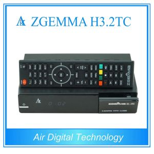 Zgemma H3.2tc Newest Satellite TV Box DVB S2 + 2 * DVB T2/C pictures & photos