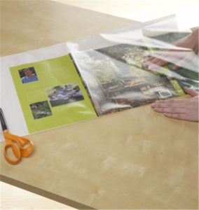 Clear Covering Self-Adhesive Privacy Film and Liner pictures & photos