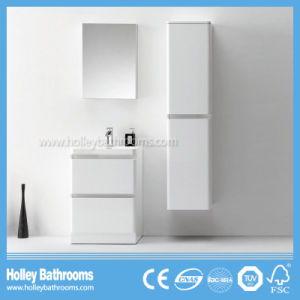 Floor and Wall Mounted Bathroom Furniture with 2 Drawers and 2 Doors (BF377D)