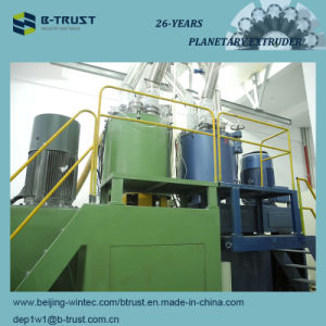 Wood Grain PVC Laminated Films Calendering/Calender Production Line pictures & photos