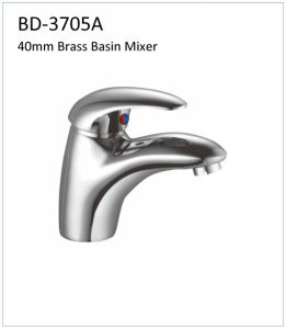 Bd3705D 40mm Brass Single Lever Sink Mixer pictures & photos
