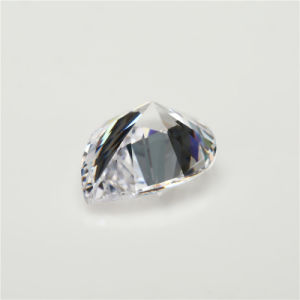 White Cubic Zirkonia Pear Shape Cubic Zirconia Gemstone pictures & photos