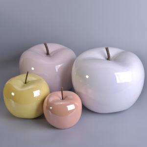 Pink Apples Fruit Artificial Fruit Ceramic Decorations Table Centerpiece pictures & photos