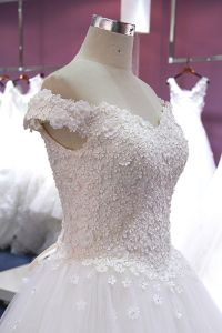 Cheap Floor Length Real Pictures Wedding Dress pictures & photos