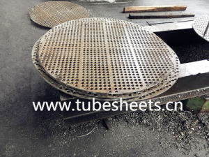 Deep Hole Drilling Baffle Steel, Support Plate for Air Cooler pictures & photos
