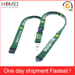 Ribbon Customized Fashion Flat Weave Lanyard pictures & photos