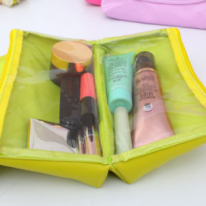 Cute PU Leather Cosmetic Makeup Bag for Women pictures & photos