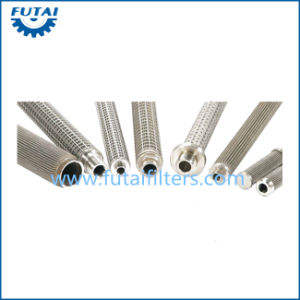 Pleated Candle Stainless Steel Filter for Synthetic Fiber pictures & photos