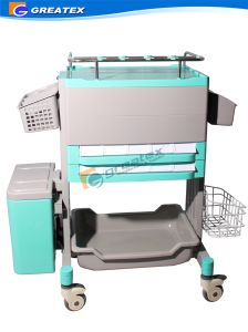 Top Class Medical ABS Wireless Nursing Trolley Medical Computer Cart (GT-ENT102) pictures & photos