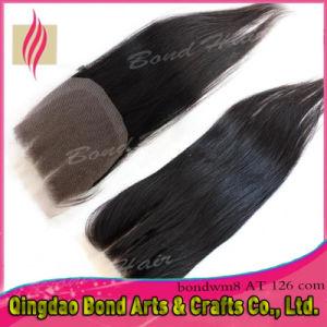 Brazilian Virgin Remy Human Hair Lace Closure pictures & photos