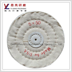 Metal and Stainless Steel Surface Fine Mirror Finish Polishing Wheel pictures & photos