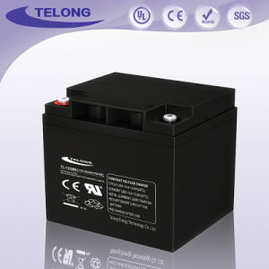 Deep Cycle Solar Battery 12V38ah for Solar & Wind Application pictures & photos