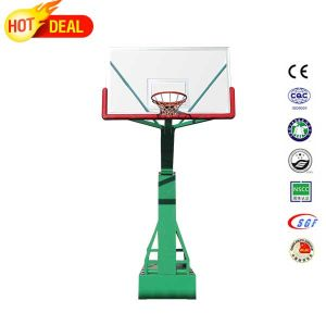 Portable Electric Hydraulic Basketball Hoop Basketball Goal Stand pictures & photos