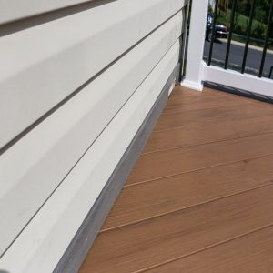 Low Maintanence Brown and Grey Outdoor PVC Flooring pictures & photos