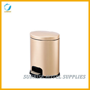 Stainless Steel Foot Dustbin Pedal Bin pictures & photos