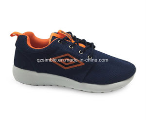 Breathable Mesh Sport Running Shoes for Men Women (17108) pictures & photos