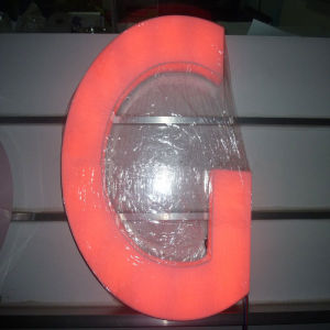 LED Fulllit Channel Letter Signs, Decorative Acrylic LED Alphabet Letters with Waterproof LED Strip pictures & photos