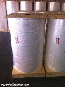 White Opaque BOPP Film, Pearlized BOPP Film for Label 48mic pictures & photos