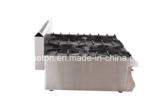 Stainless Steel Ce Verified Counter-Top Gas Stove (ET-TSRQBZL) pictures & photos