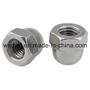 Stainless Steel Slotted Hex Cap Nut pictures & photos