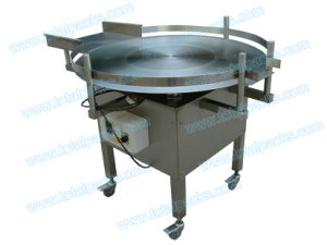 Automatic Stainless Steel Bottle Collecting Table for Round Bottle (TT-300A) pictures & photos