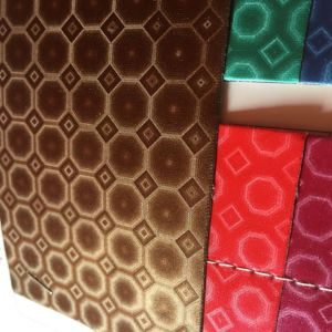 Tridimensional PU Leather for Package Gift Box pictures & photos