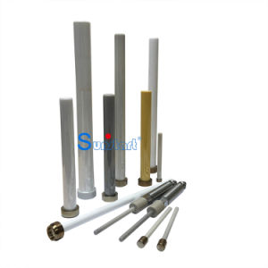 Top Quality Zirconia Ceramic Pump Plunger with White and Grey Finish pictures & photos