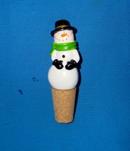 Resin Snowman Bottle Stoppers pictures & photos