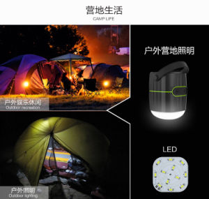 New camping power bank with bluetooth speaker and LED light pictures & photos