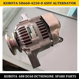 Best Quality of Kubota 688 DC60 DC70 Engine Parts 5h660-42500 Assy Alternator pictures & photos
