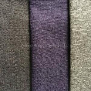 Hzh05 Fake Linen Fabric for Hometextile Sofa Cushion pictures & photos
