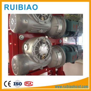 Gearbox Worm Speed Reducer with Output Shaft Hoist Gearbox pictures & photos