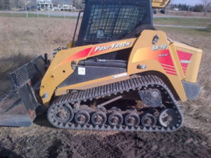 15′′x4′′x51c 381*101.6*51c Multi Terrain Loader Cat Sr70 Compact Track Loader Track pictures & photos
