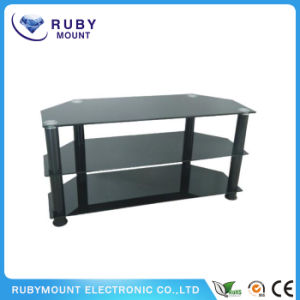 Professional Certification Ce RoHS Glass Furniture TV Stand pictures & photos