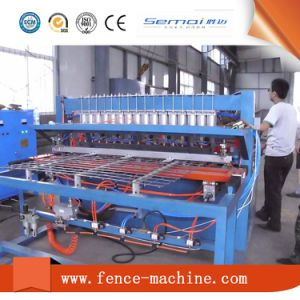 Automatic Welded Wire Mesh Welding Fence Panel Machine pictures & photos