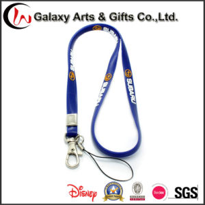 High Quality Wholesale Silicon Printed Lanyard with Card Holder pictures & photos