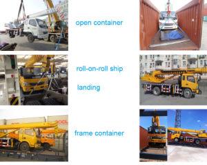 12 Month Warranty Hydraulic Aerial Platform Truck Crane in Peru pictures & photos