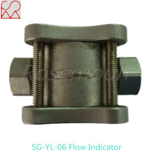 Steel Pipe Threaded Oil Flow Indicator with Blade pictures & photos